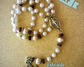 Advent Pearl Rosary