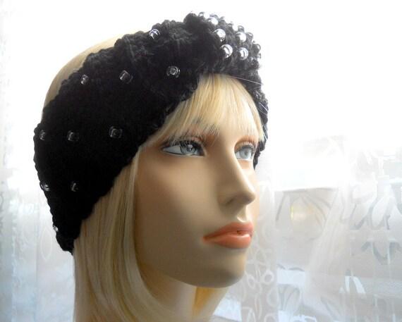 Crochet Pattern Turband A Beaded Turban Headband Pattern Instant