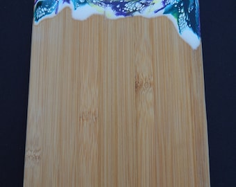 Small Resin Bamboo Cutting Board or Serving Board