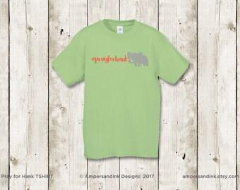 PRAY FOR HANK - T-shirts - Kiwi Green - Limited Qty