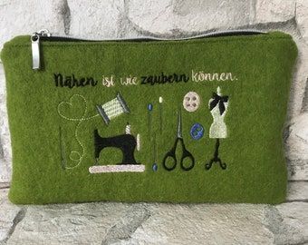 Travel case, purse, needle and thread, Nähutensilo, sewing, small bag, Wellness & Beauty