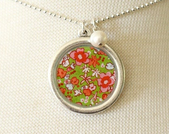 Necklace - Green Meadow