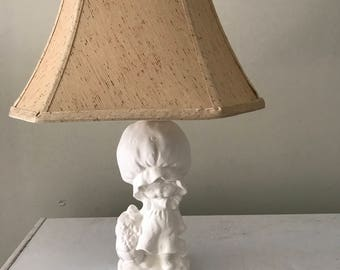 Ceramic lamp - unpainted