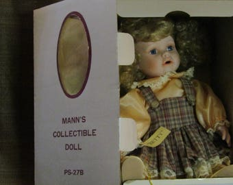 "1989 Mann's  Collectible ""Betty"" Doll"