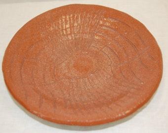 Terra Cotta Plate