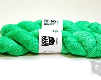 Von Schweetz - Hand Dyed/Superwash Merino/Cat's Cradle Solid