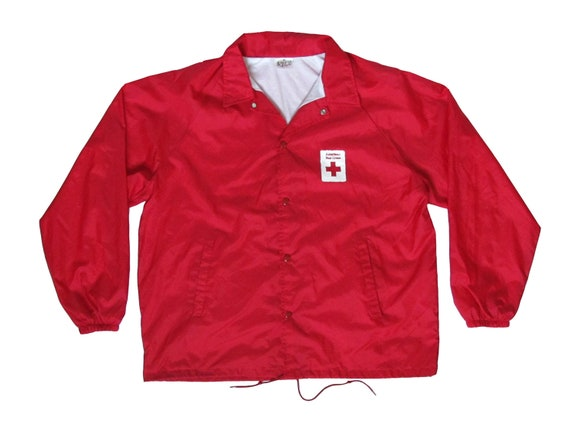American Red Cross Coaches Jacket