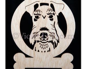 Fox Terrier Ornament-Fox Terrier Gift-Free Personalization