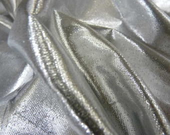 Tissue lame silver 44 in.