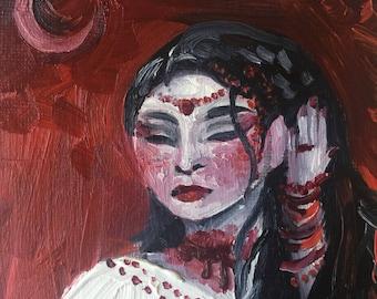 Crescent~ Original Oil Painting