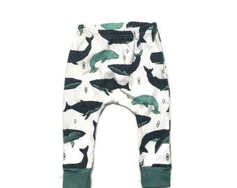 baby leggings // organic baby leggings // whale pod leggings // organic baby clothes // baby gift // toddler leggings // baby leggings boy