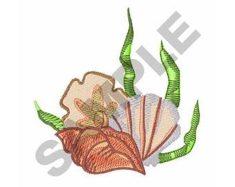 Seashells - Machine Embroidery Design