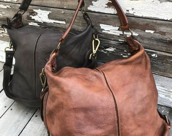 NEW!!!!! The Perfect Sling Bag! Soft Italian Leather