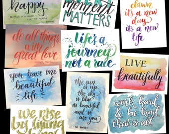 Every Moment Matters - postcard set