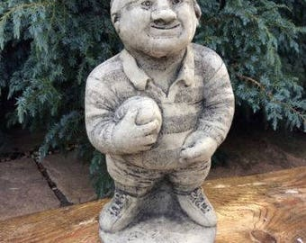 Stone Rugby Player Garden Ornament Sport Figure