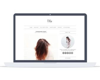 Fixie - Wordpress Theme - Premade - Self Hosted - Wordpress Blog Theme - Responsive