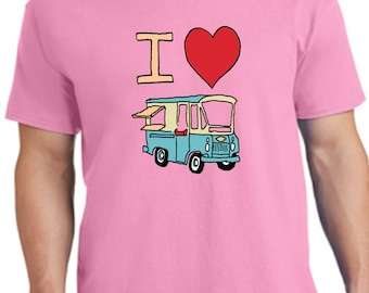 Clara Rose Ice Cream Truck Youth T Shirt
