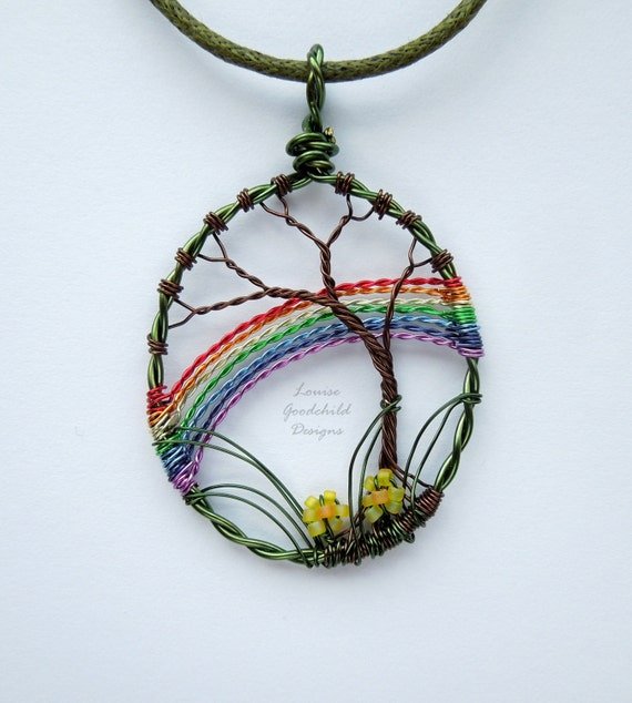 rainbow pendant day w wbutterfly graduation enameled butterfly gold white dream