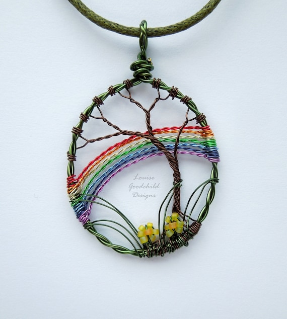 original rainm products rainbow medium fohrman andrea psop necklace pendant