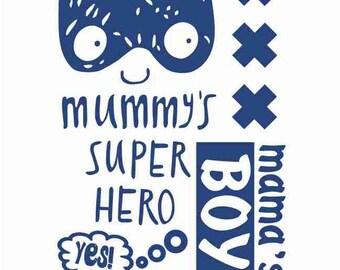 Super hero Print for boy Batman  print on t-shirt  t-shirt transfer for clothing thermotransfer clothing decor