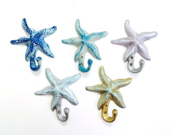 Starfish Hook/ Cast Iron / Key /Entry / Sea Gypsy California /anthropologie/ beach/ urban outfitters/wholesale available