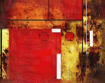 Stunning Modern Abstract Artwork Digital Art Canvas Picture Wall Art Home Decor