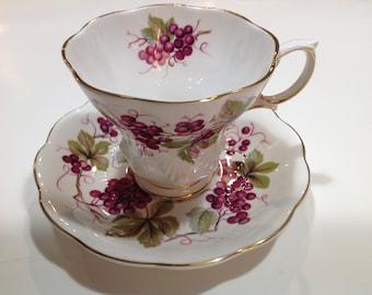 Royal Albert Bone China Tea Cup and Saucer, Random Harvest, Kent