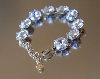 Rhinestone Bracelet, Bracelet, Crystal Bracelet, Wedding Bracelet, Bridal Bracelet, Bridal Jewellery, Wedding Jewellery