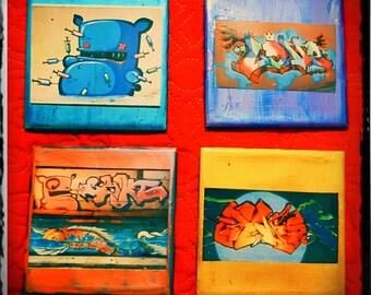 Graffitti Coasters