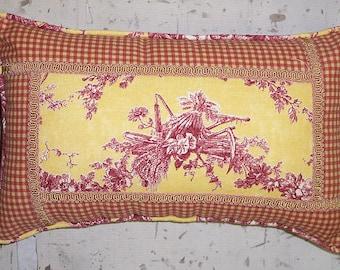 Handmade Throw Pillow Slip Cover Design