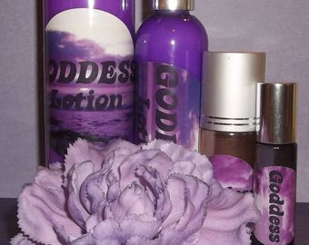 All natural Perfume Oil *GODDESS* a Woodsy Cherry Blossom scent 10 ml bottle-matching lotion available-Vegan, BoHo