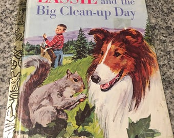 Little Golden Book: Lassie and the Big Clean Up Day
