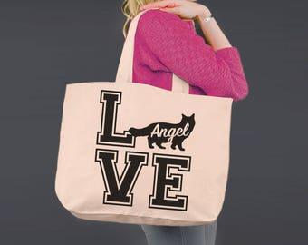 Ragdoll Cat Love | Cat Lover Gift | Tote Bag | Canvas Tote Bag | Beach Tote | Canvas Tote | Shopping Tote | Shopping Bag | Korena Loves