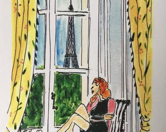 Daydreaming in Paris