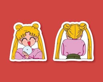 Usagi Sticker/Sailor moon sticker/anime sticker/usagi sailor moon/Kawaii sticker/Sailor moon Crystal