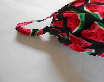 Plastic Bag Holder, Sack Sock, Watermelon Slices