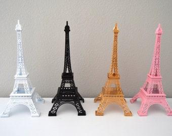 Eiffel Tower Centerpiece. Parisians Theme Decor. Paris Wedding Decor. French inspired centerpiece