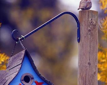 Spring season images,Garden photography, fine art photography, Oregon, Garden ornaments,bird house.