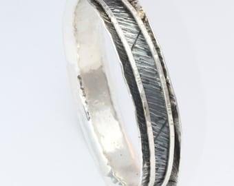 Sterling Silver Bangle& Silver Spinning Bracelet | Silver  Bracelet | Silver Spinning Bangle Bracelet | Spinner Bracelet | birthday gift