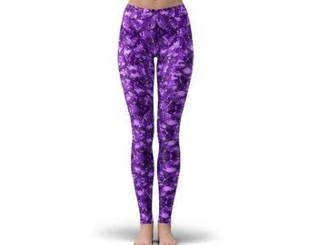 Purple Alexandria Leggings