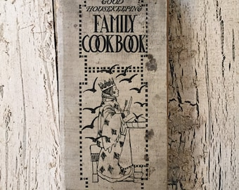 Good Housekeeping Family Cook Book - 1906 - Antique Tattered Cook Book