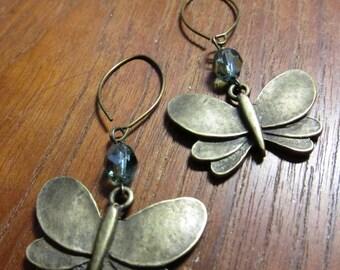 BRASSY BUTTERFLY Earrings