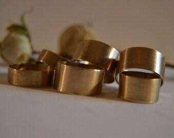 Nu-Gold Wide/Cigar Ring