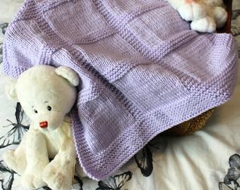 Knit Pram Blanket