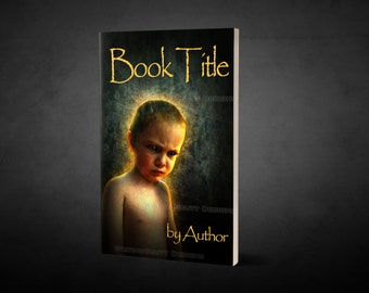 "Premade Ebook Cover ""Boy of Evil"" Fiction Literary Fiction Horror Adventure Dark Thriller Mystery"