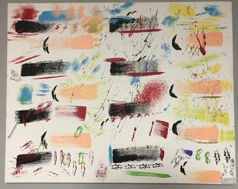 Hand-painted Abstract Painting