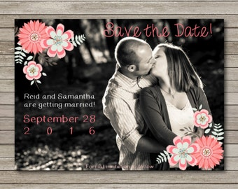 Save the Date 5x7 Flat Card