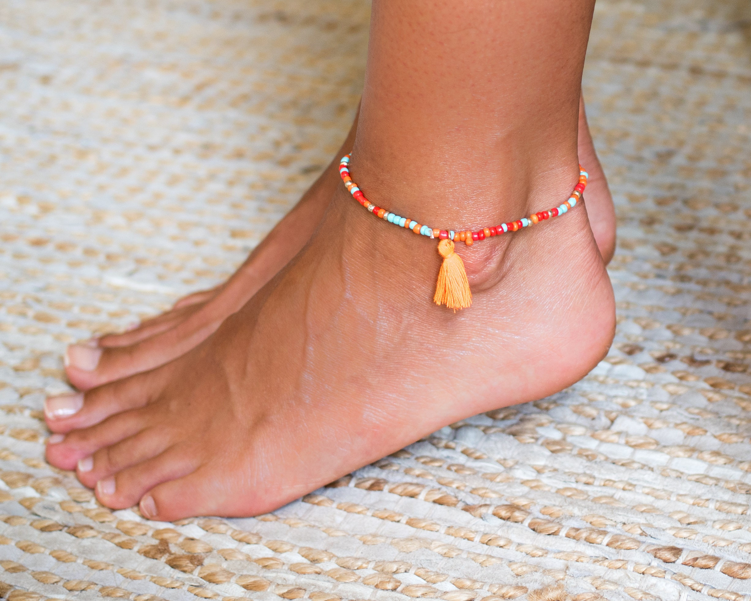 womens beach toe and women gold anklets shell for anklet rings myshoplah