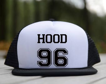 5 Seconds of summer 5sos Trucker Hat Calum Hood Date Of Birth 96 design white black trucker hats color combination trucker hats