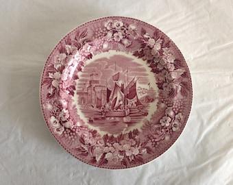 "Wedgewood Ferrara Etruria England 6"" Dessert Plate"